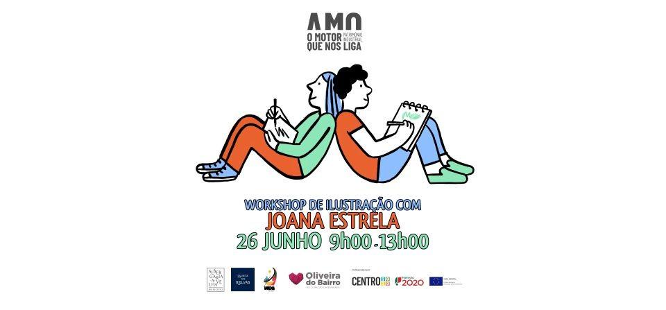 Workshop de Ilustração com Joana Estrela