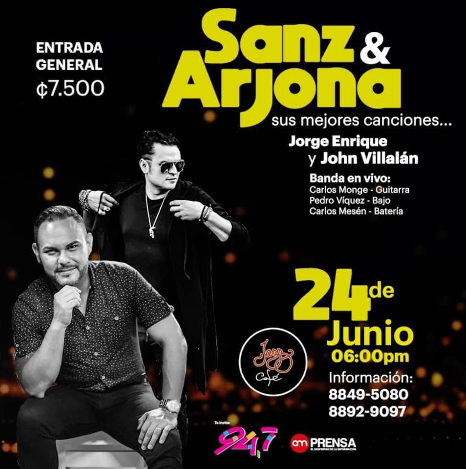 Especial de Alejandro Sanz y Ricardo Arjona