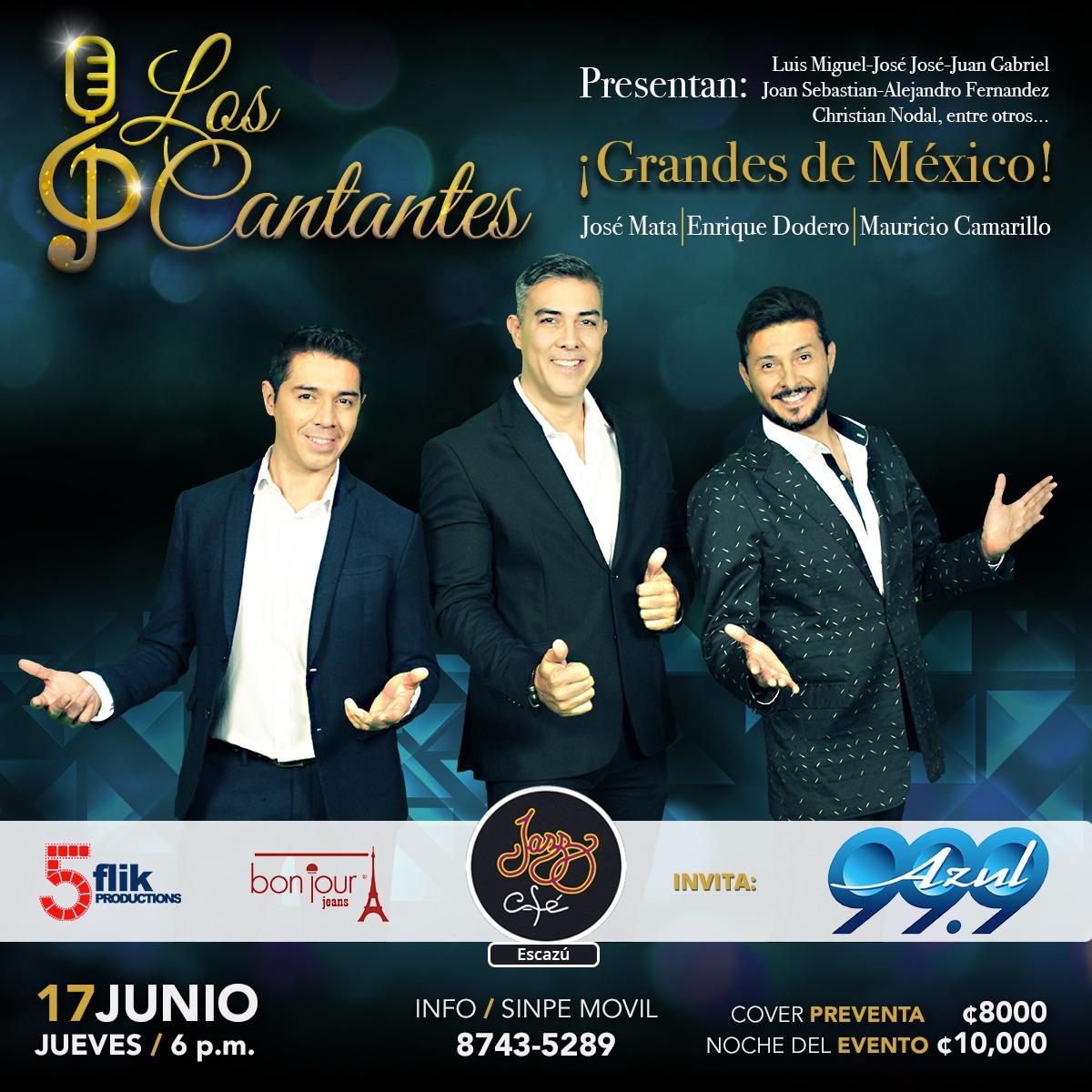 Los Cantantes presentan: Grandes de México