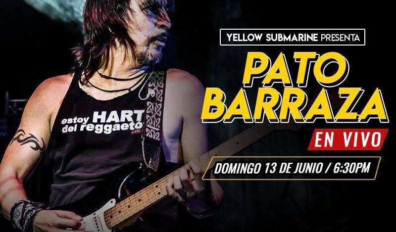 Pato Barraza En VIVO Domingo 13