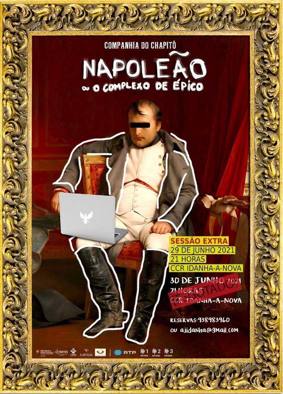 """SESSÃO EXTRA: """"Napoleão ou O Complexo de Épico"""""""