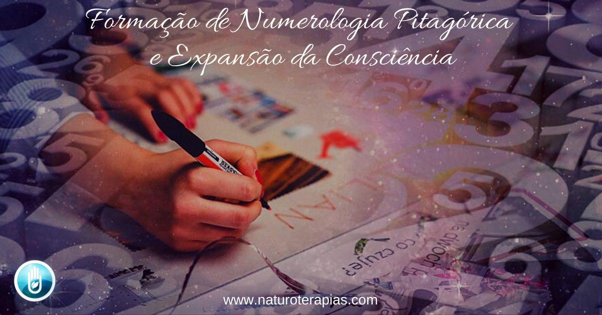Formação de Numerologia Pitagórica e Expansão da Consciência - níveis 1 e 2