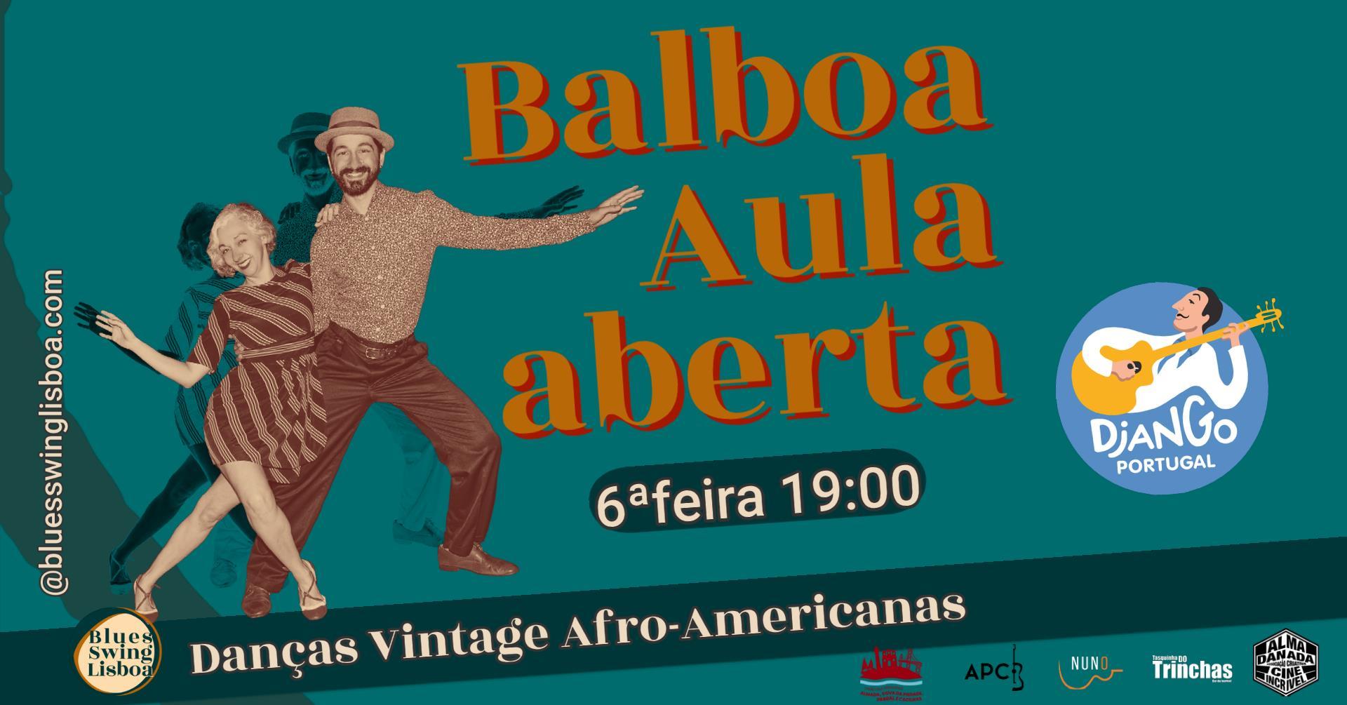 Balboa aula aberta | Festival Django Portugal