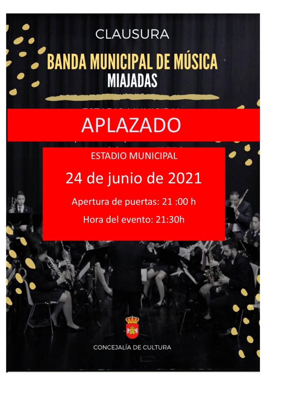 Clausura del curso 2020/2021 de la Banda Municipal de Música