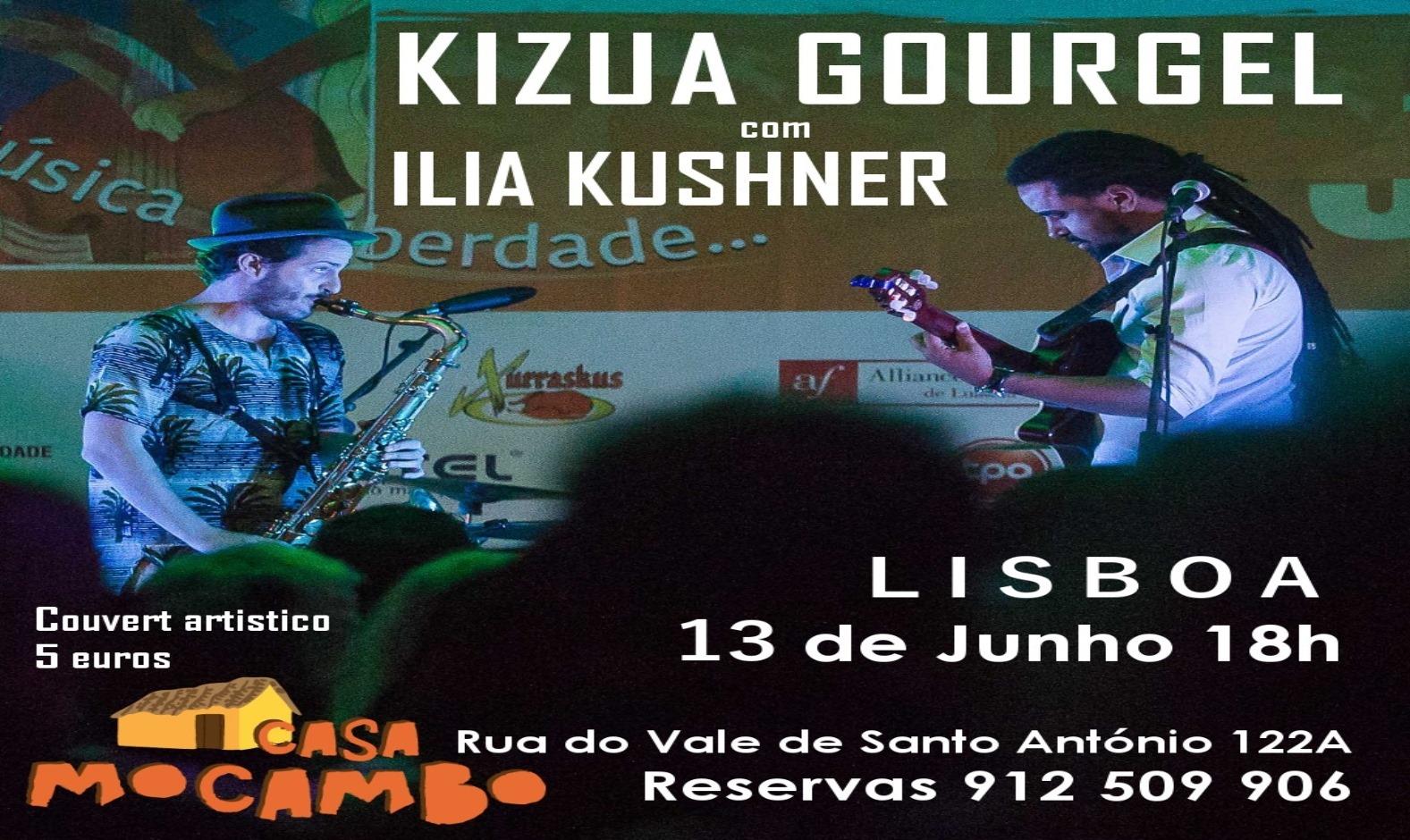 Petiscos de Santo António com Kizua Gourgel e Ilia Kushner