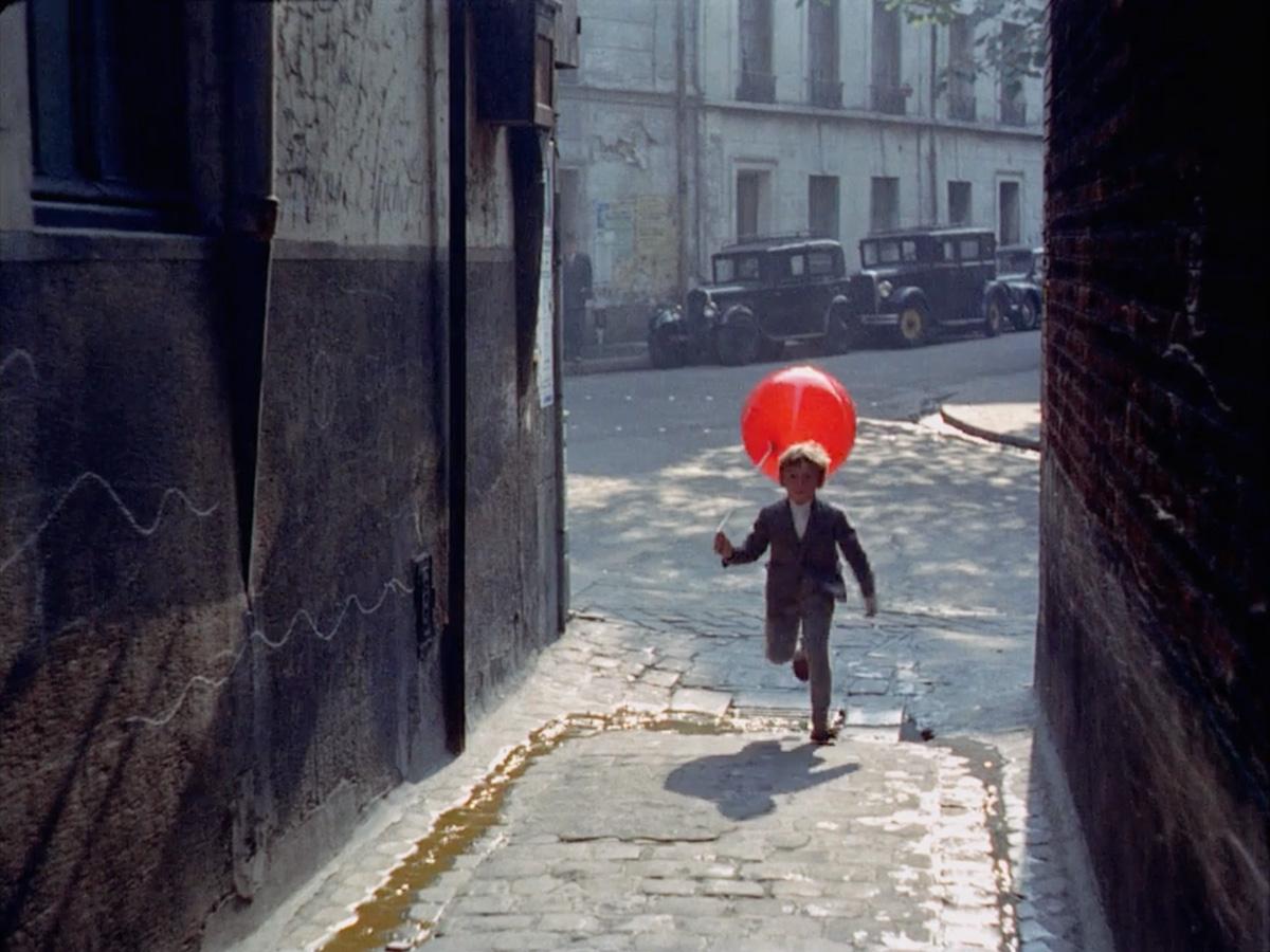 O Balão Vermelho de Albert Lamorisse | Cinema na Rua – Cultura em Movimento