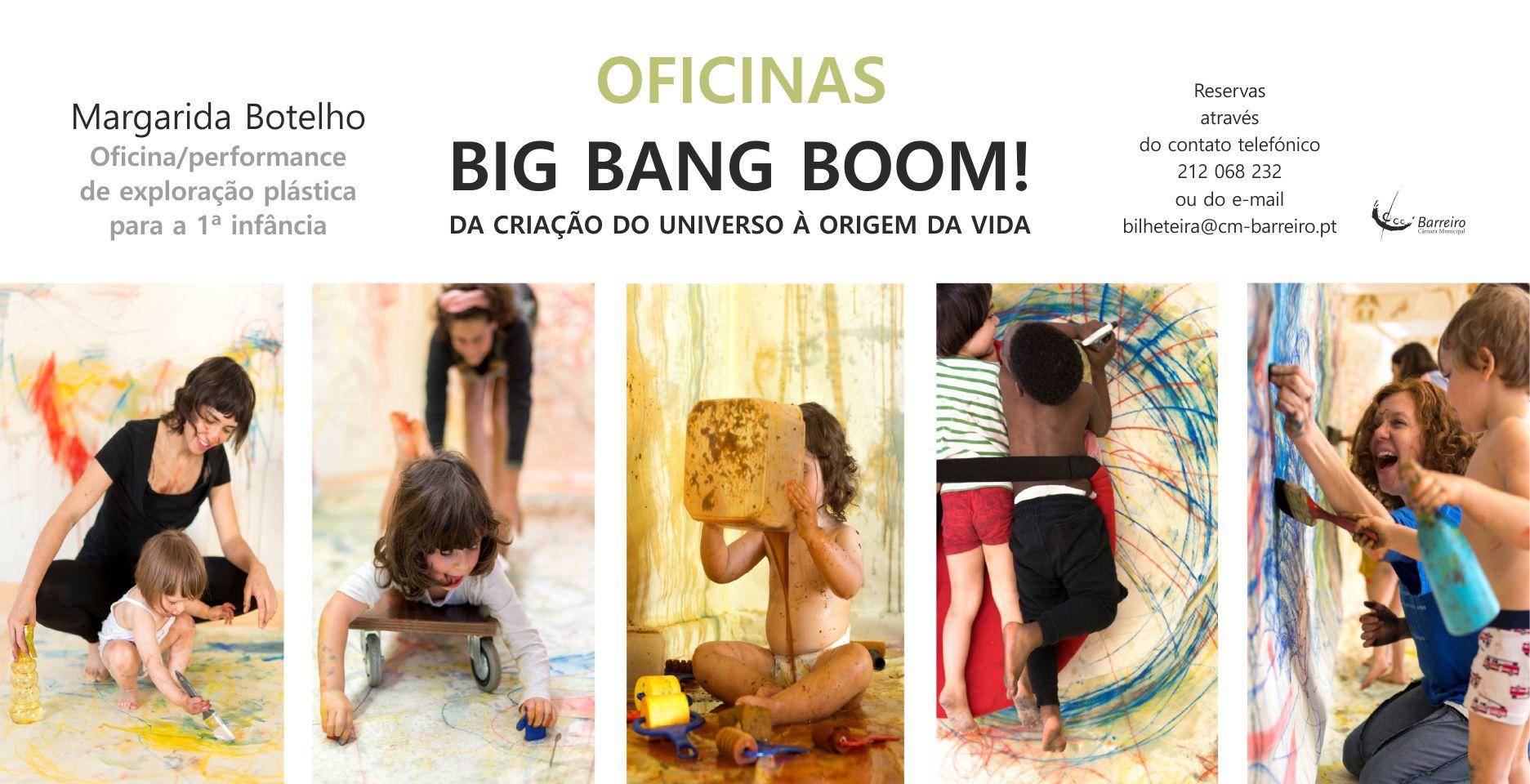 OFICINAS BIG BANG BOOM! ou a criação do Universo ilustrada por bebés e crianças