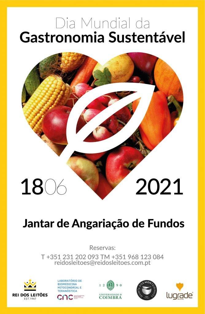 Dia (mundial) da Gastronomia Sustentável – Jantar de Angariação de Fundos