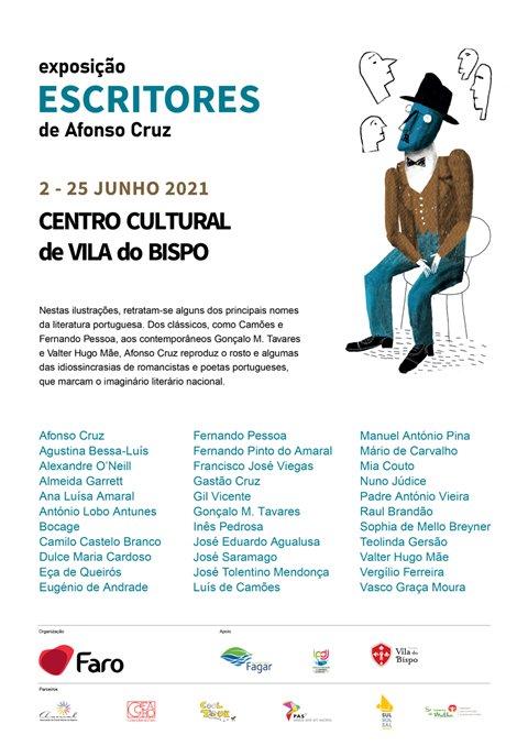 Exposição 'Escritores' de Afonso Cruz