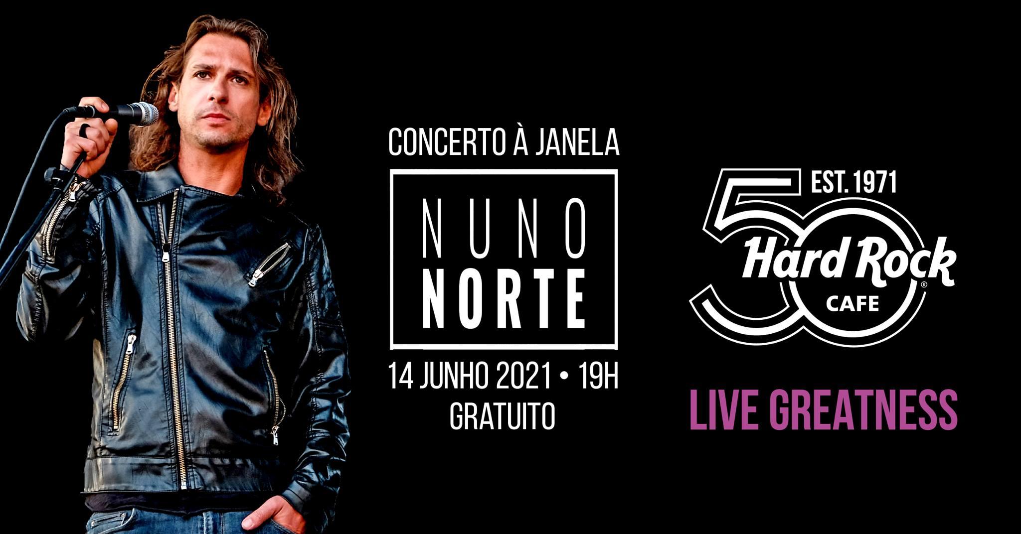 Nuno Norte   50º Aniversário do Hard Rock