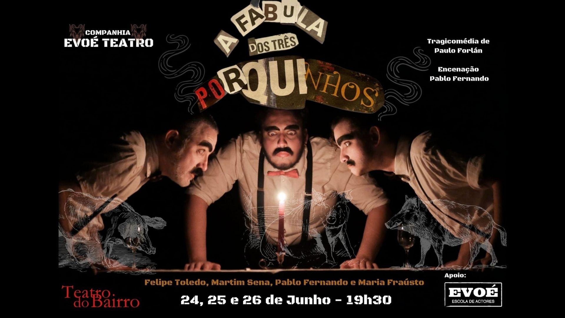 A Fábula dos Tês Porquinhos - Bigodeia Lusitana  uma Trilogia Farfalhuda Acompanhada de um Pentelho