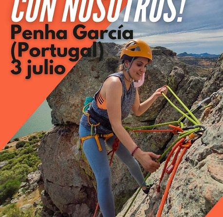 """Jornada  Tutorizada de Escalada en Roca """"Ven a Escalar con Nosotros!"""""""
