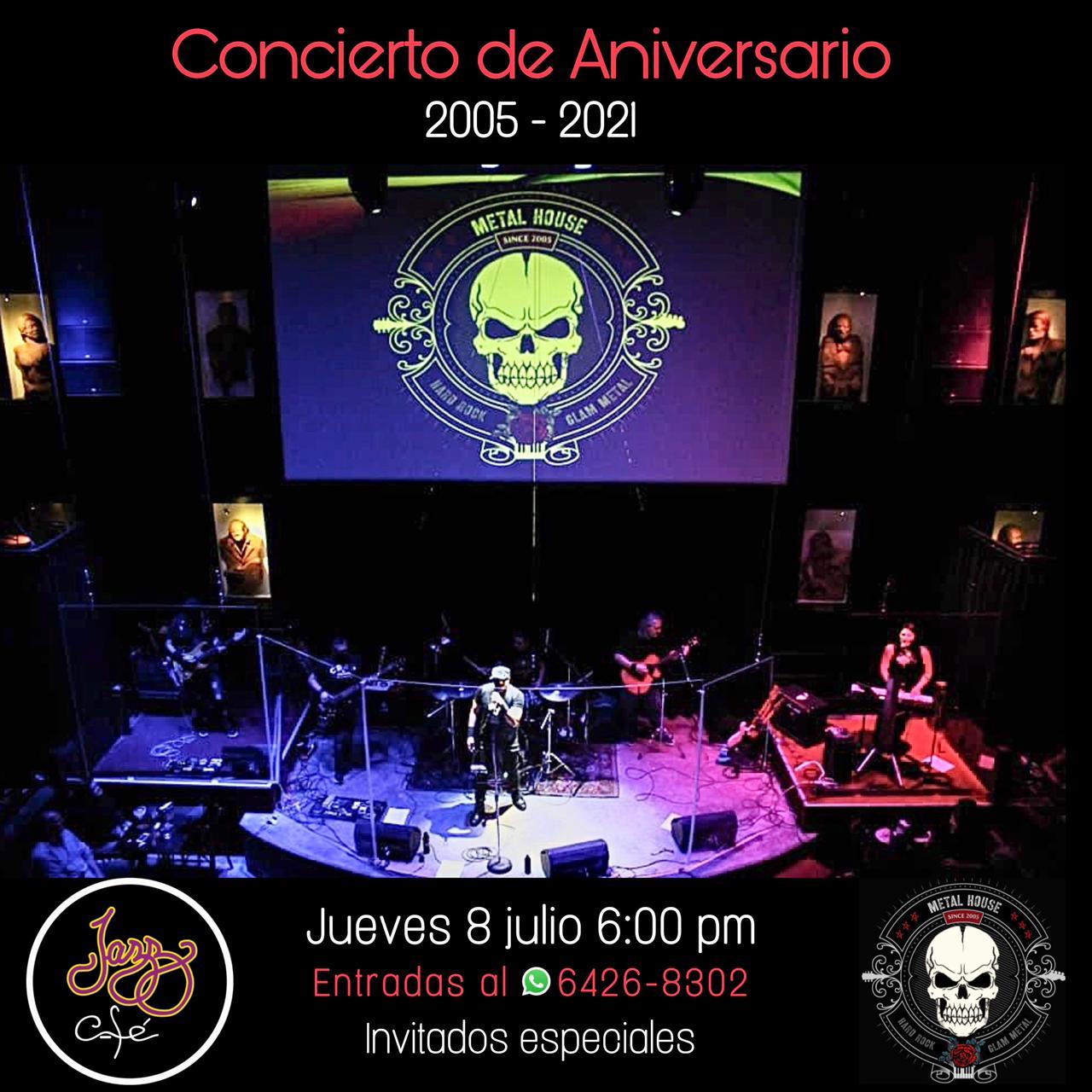 Sweet 16 (Concierto de Aniversario) Metal House Band