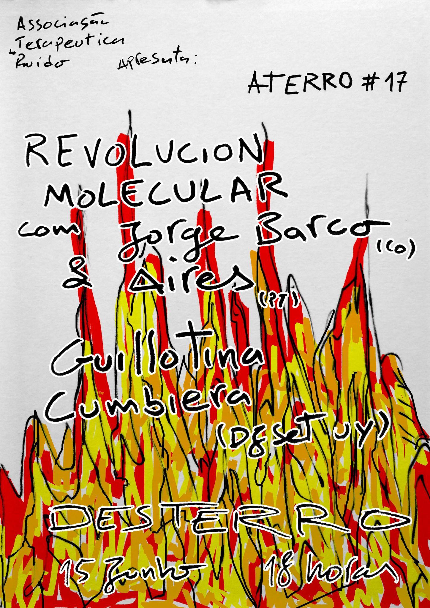 Aterro #17: Jorge Barco & Aires + Guillotina Cumbiera