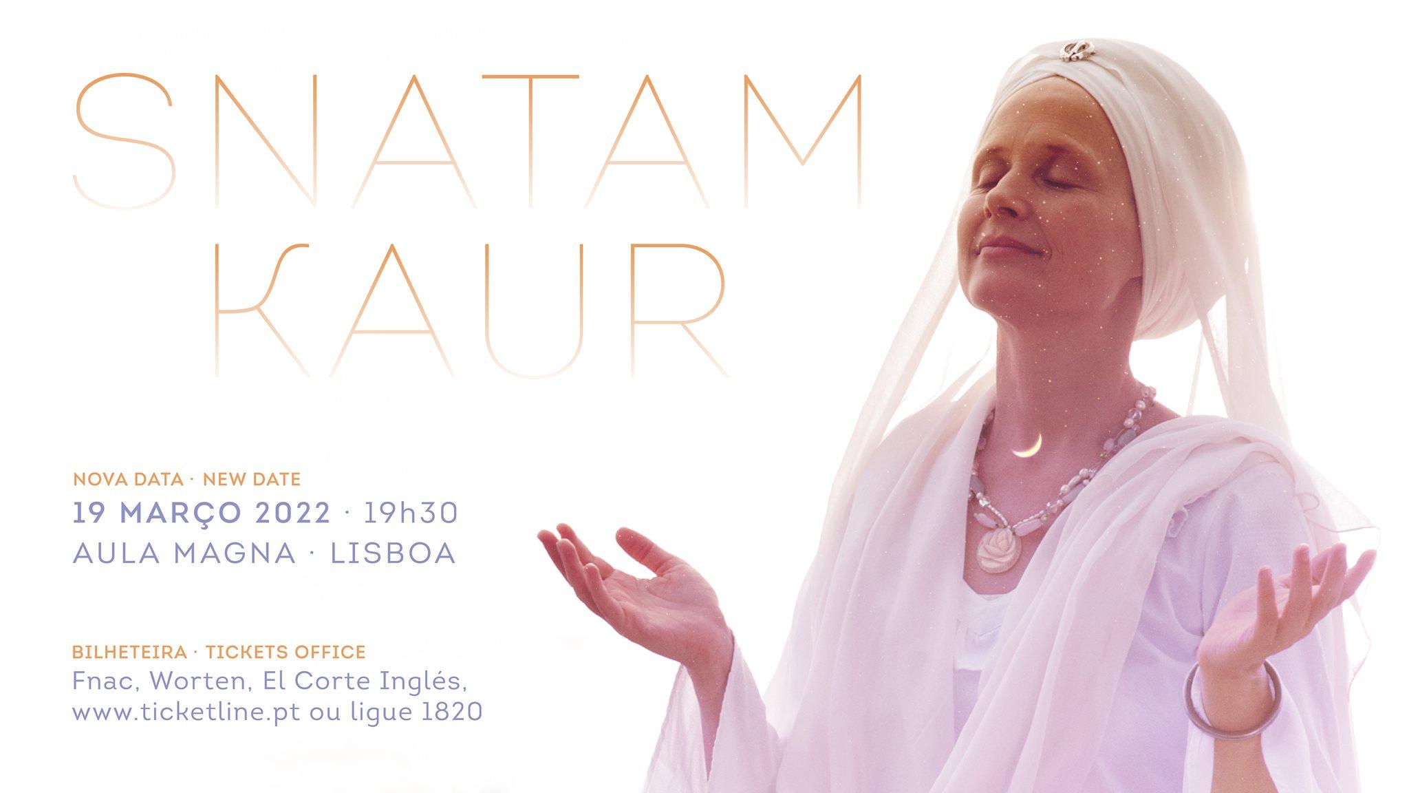 Snatam Kaur ao vivo em Lisboa 2022