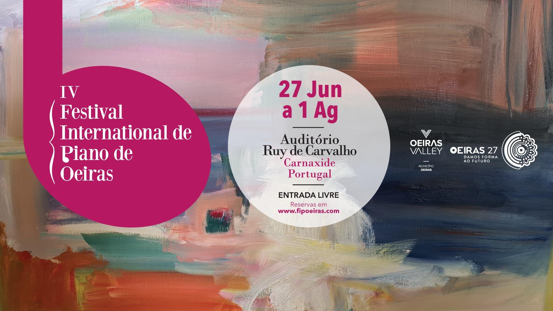 IV Festival Internacional de Piano de Oeiras