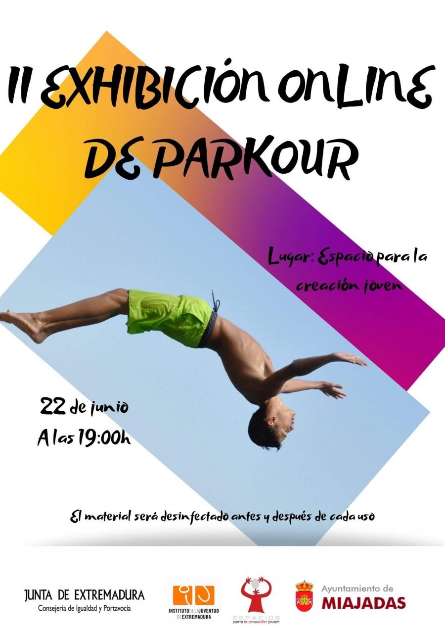 "II Edición ""Exhibición Online de Parkour"""