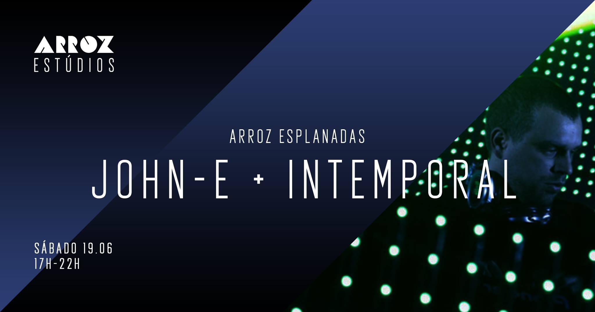 John-e + intemporal - Arroz Esplanadas