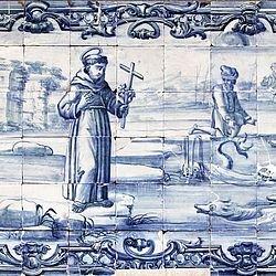 Milagres de Santo António em Azulejos