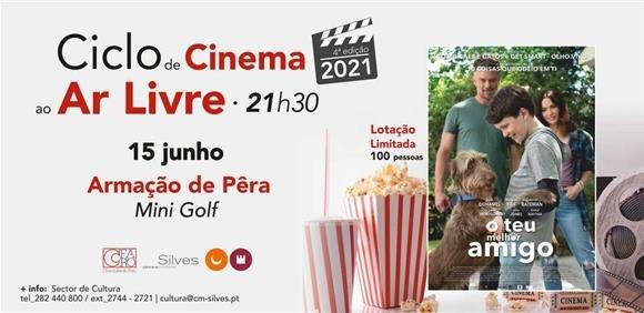 """Sessão de Cinema ao Ar Livre: Filme """"O Teu Melhor Amigo"""""""