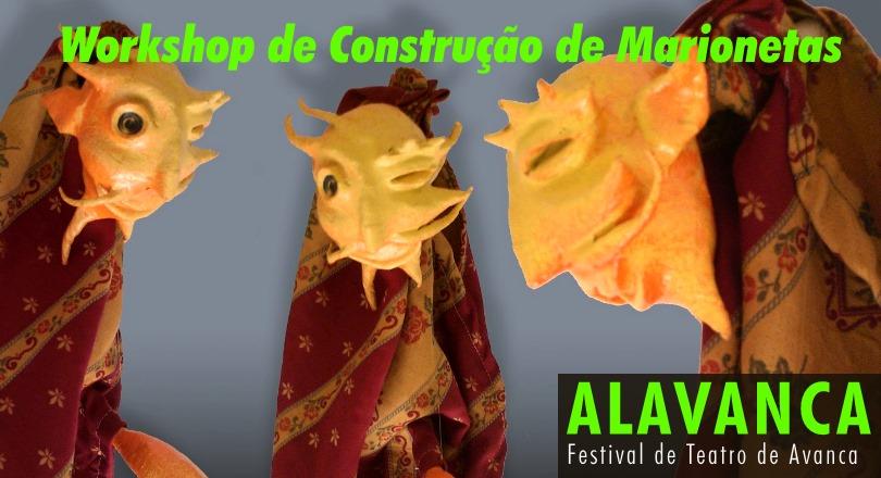 Workshop de construção de Marionetas