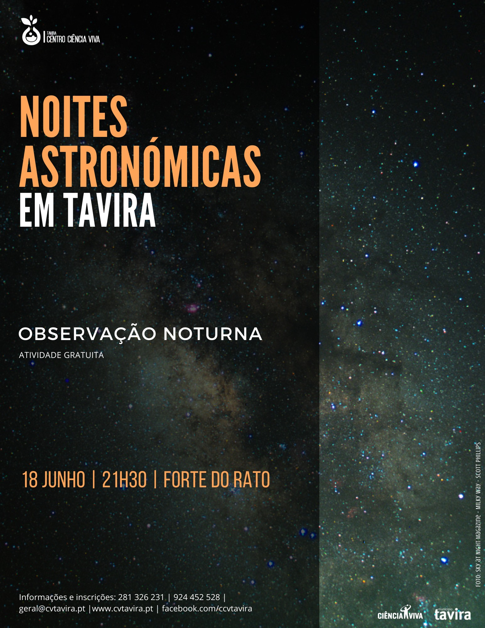 Noite Astronómica em Tavira