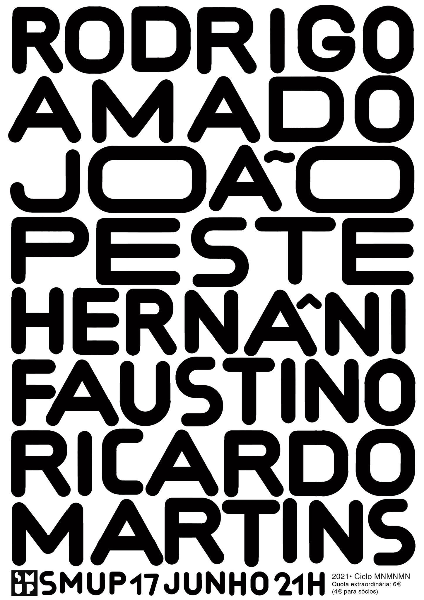 Amado, Peste, Faustino, Martins