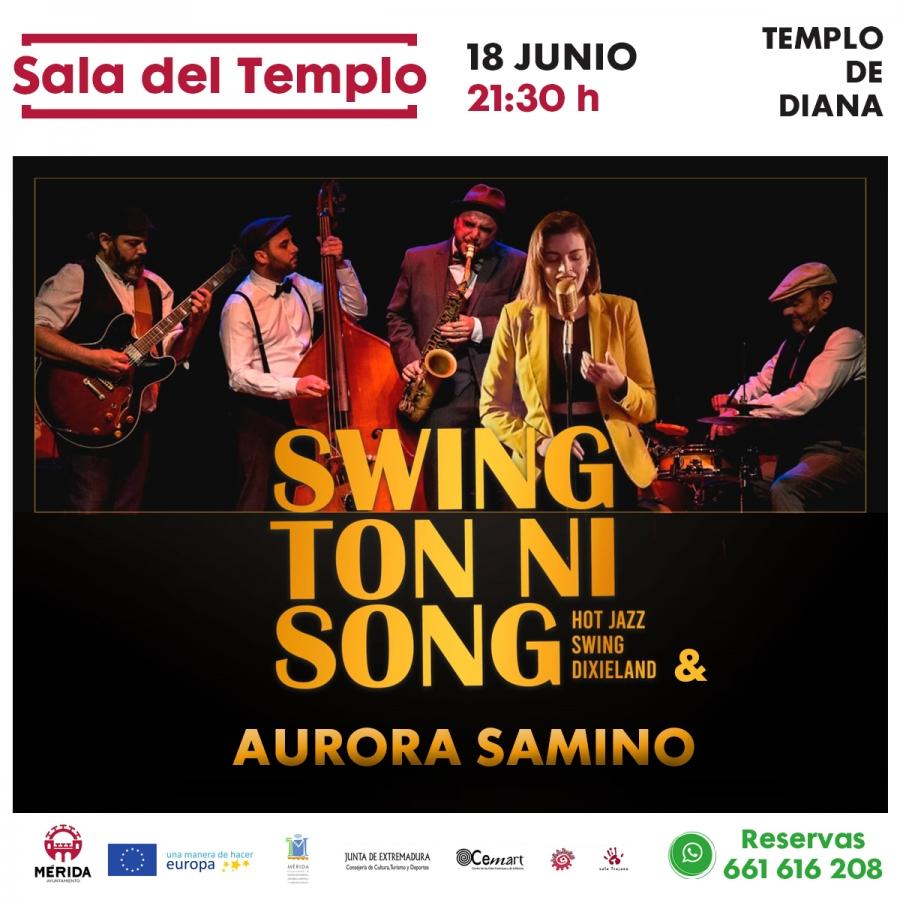 Concierto de Swing Ton ni Song & Aurora Samino