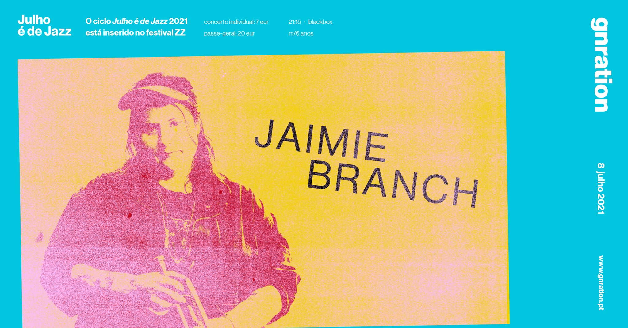 Julho é de Jazz: Jaimie Branch | gnration