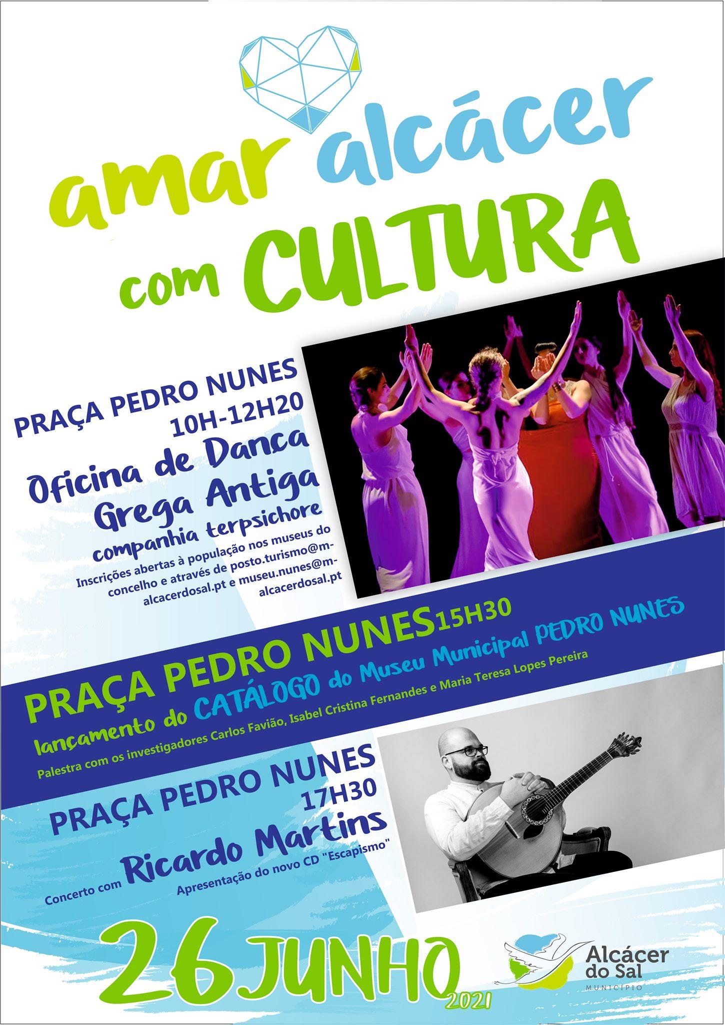 Lançamento do catálogo do Museu Municipal Pedro Nunes