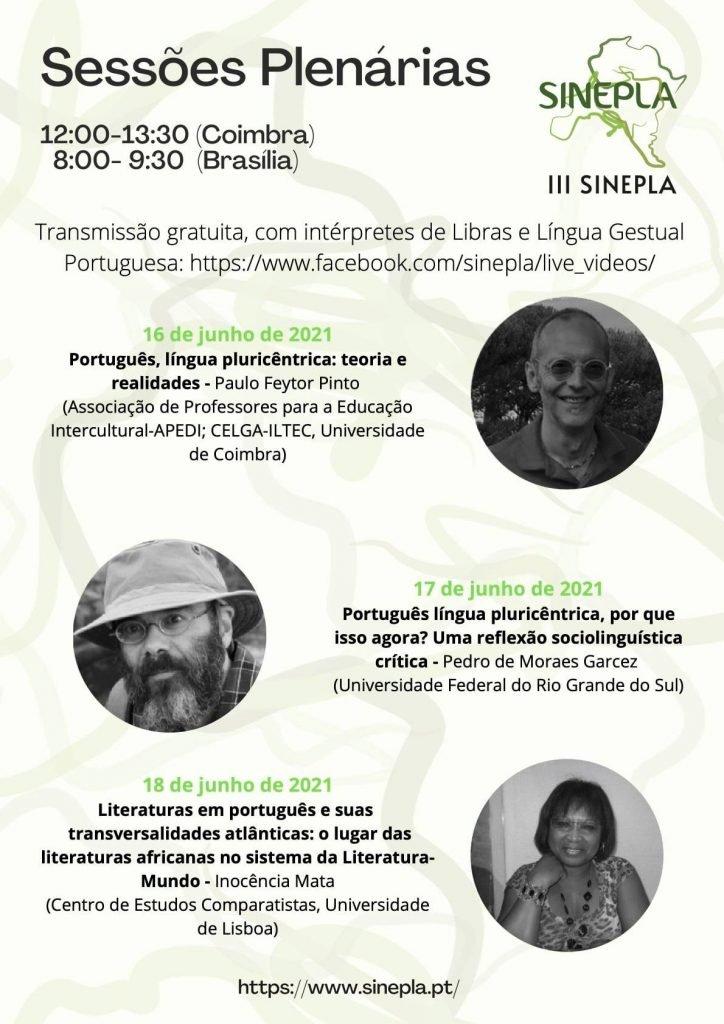 III SINEPLA – Simpósio Internacional sobre o Ensino de Português como Língua Adicional