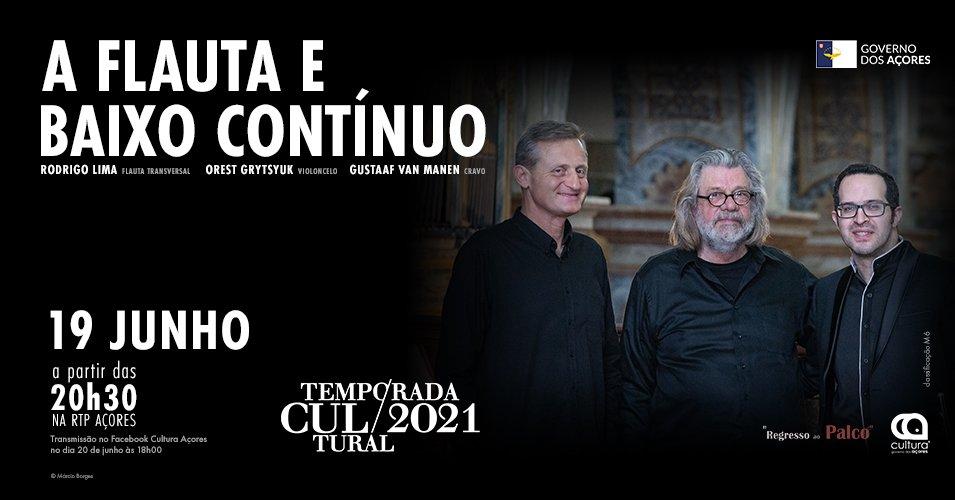 Temporada Cultural 2021   A Flauta e Baixo Contínuo