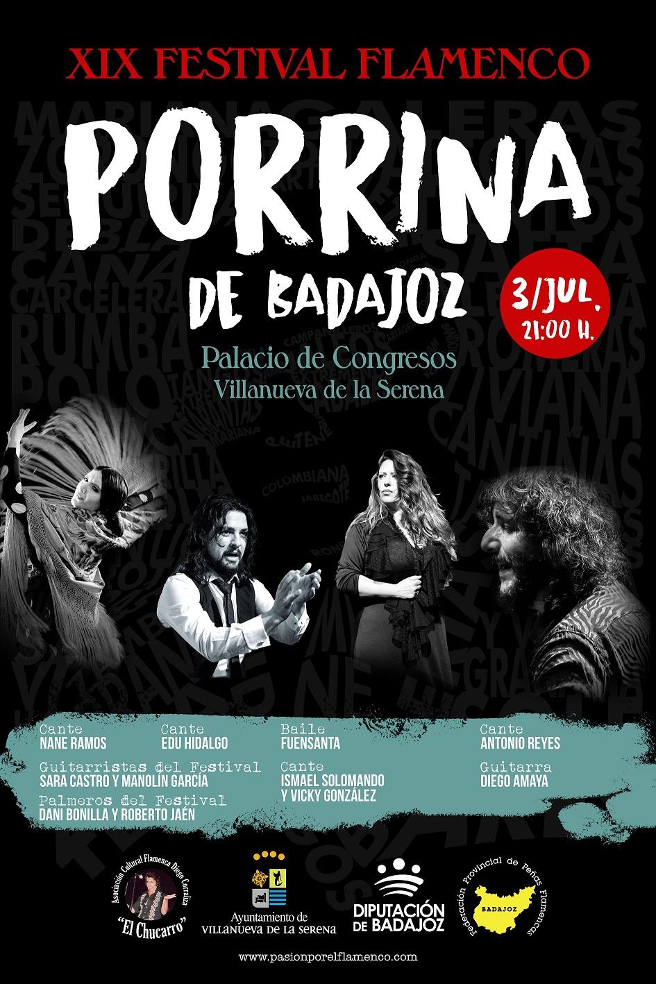 FLAMENCO | Festival Porrina de Badajoz 2021