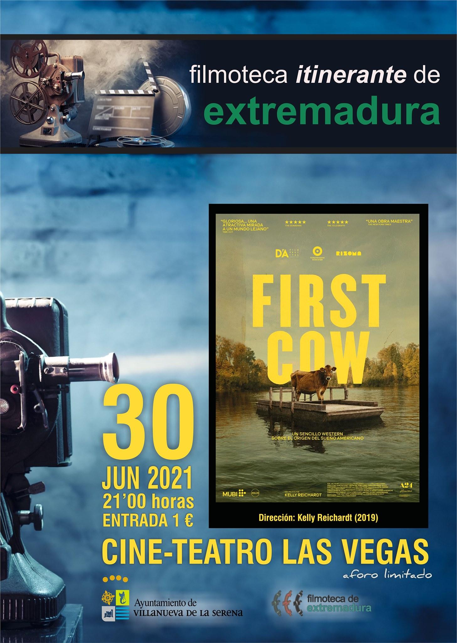 FIRST COW // Filmoteca itinerante de Extremadura.