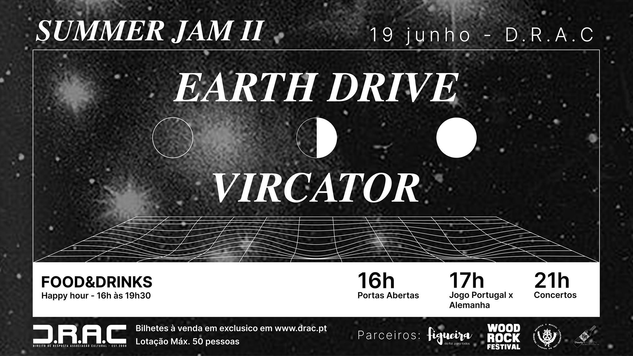 SUMMER JAM II - EARTH DRIVE + VIRCATOR