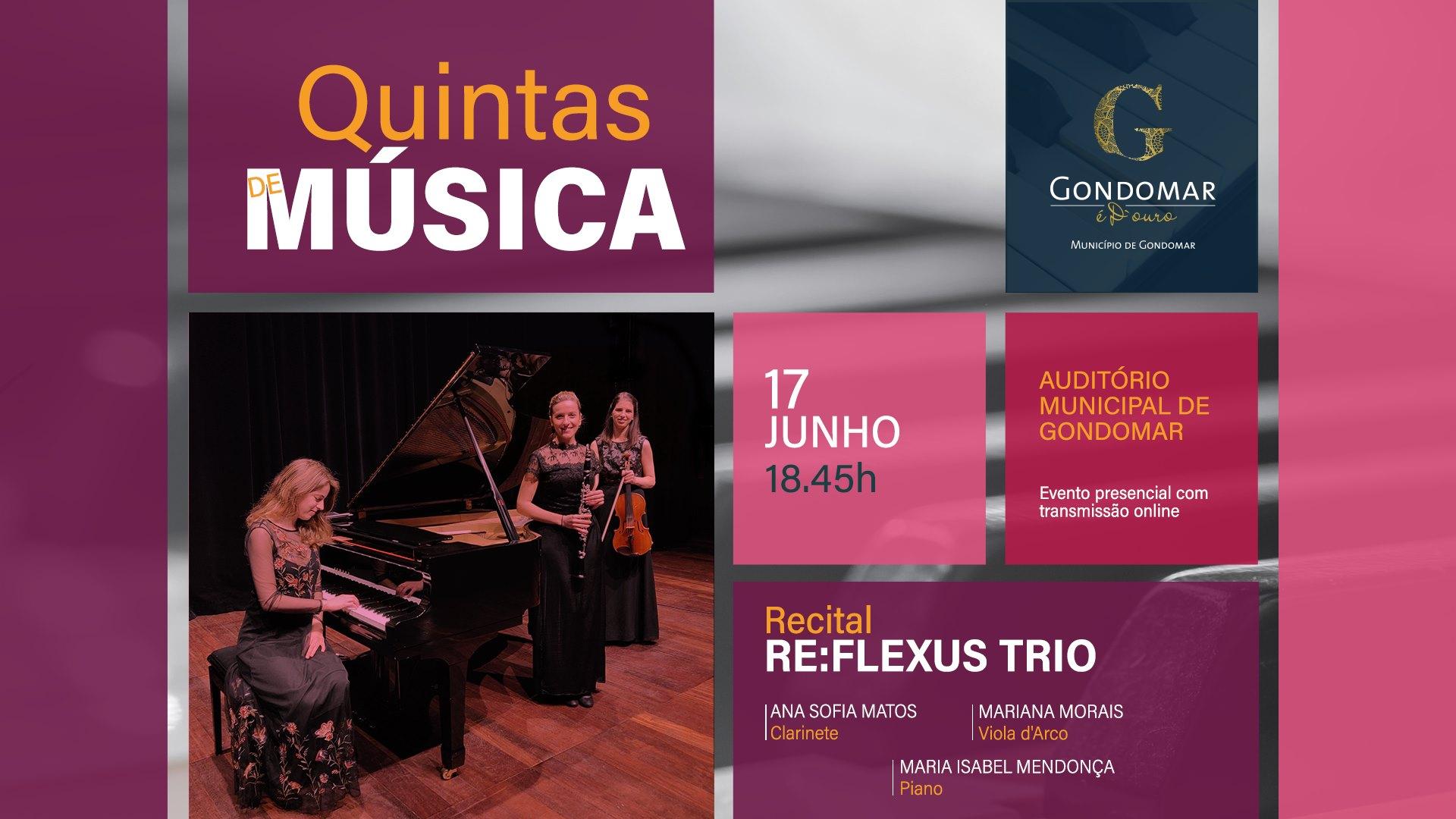Quintas de Música   Re:Flexus Trio
