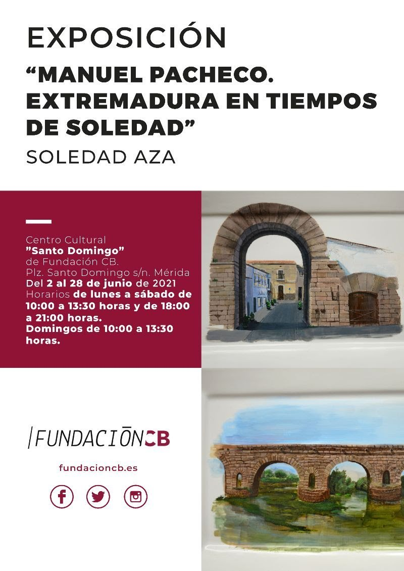 Exposición de Soledad Aza: 'Manuel Pacheco. Extremadura en tiempos de soledad'