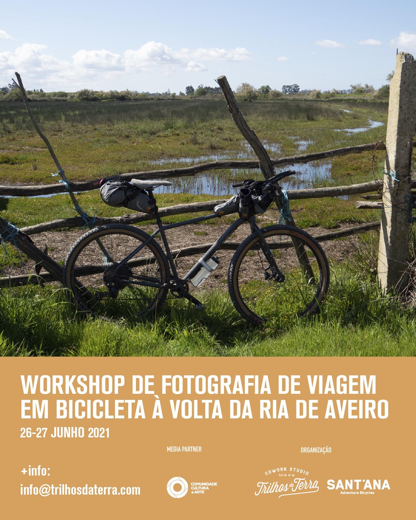 Workshop de Fotografia de Viagem em Bicicleta à volta da Ria de Aveiro
