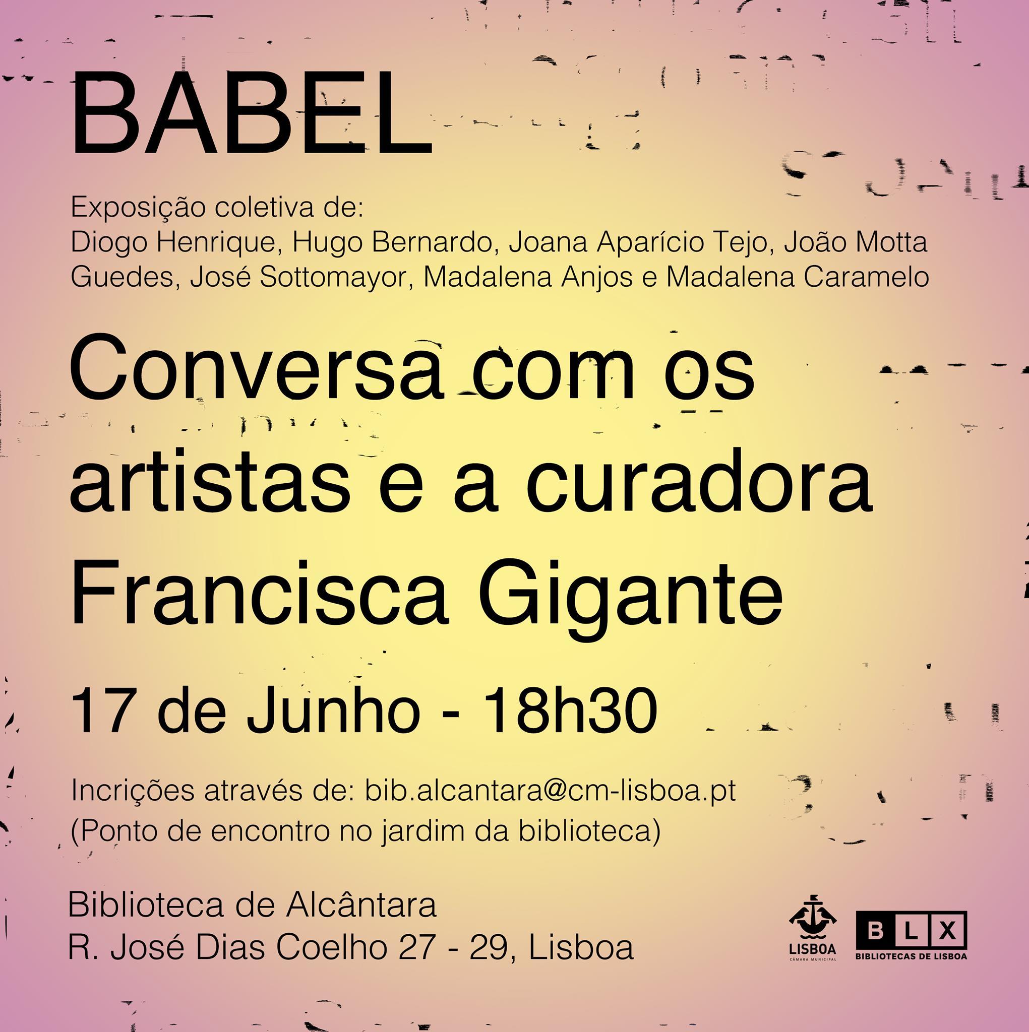 Visita Guiada à exposição Babel