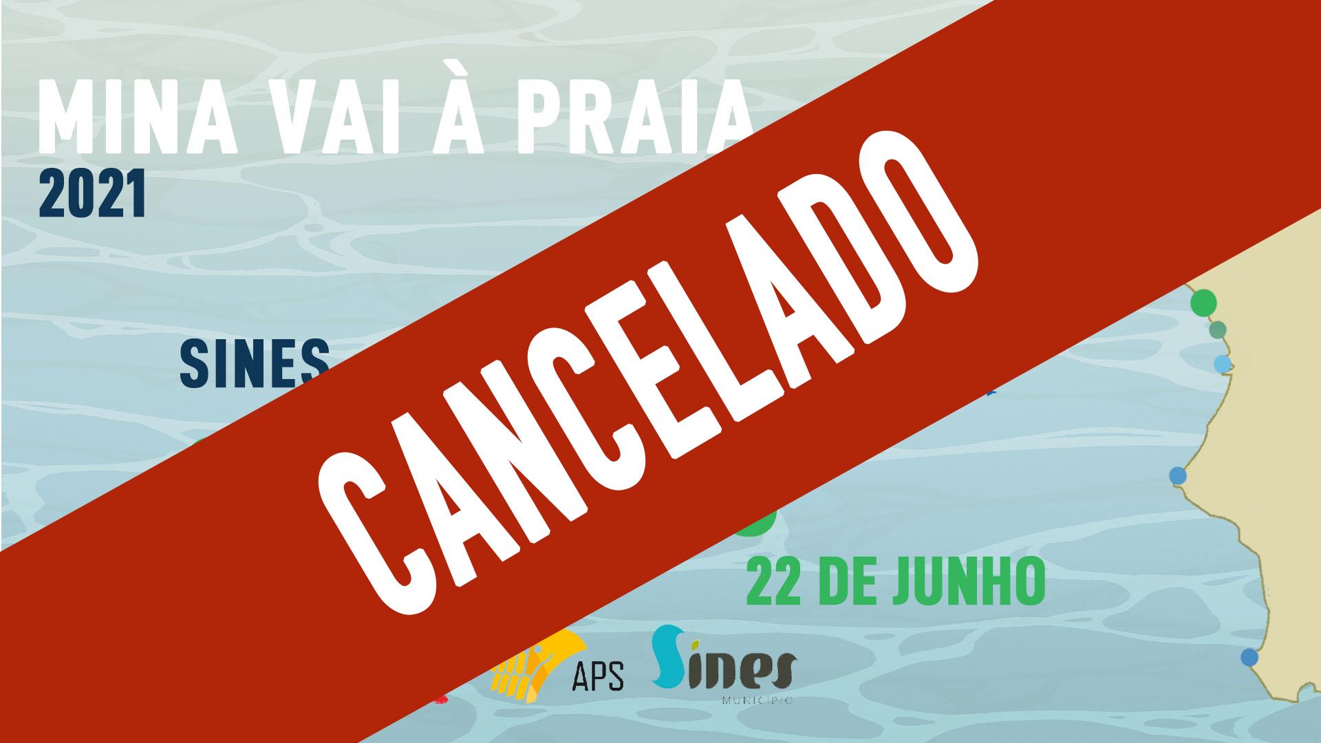 Cancelado Mina vai à Praia - São Torpes