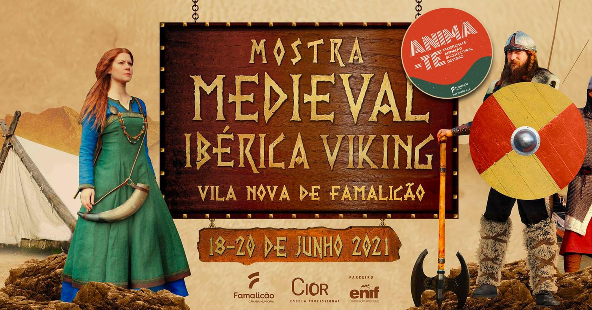 'Anima-te' com a Mostra Medieval Ibérica Viking