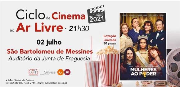 """Sessão de Cinema ao Ar Livre: """"Mulheres ao Poder"""""""