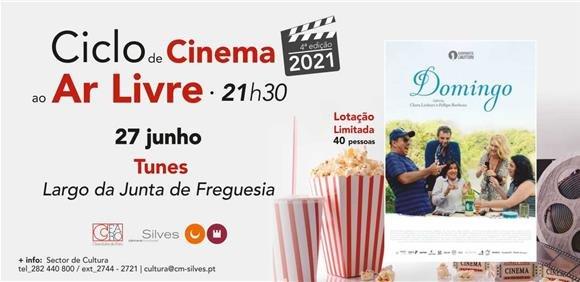 """Sessão de Cinema ao Ar Livre: Filme """"Domingo"""""""