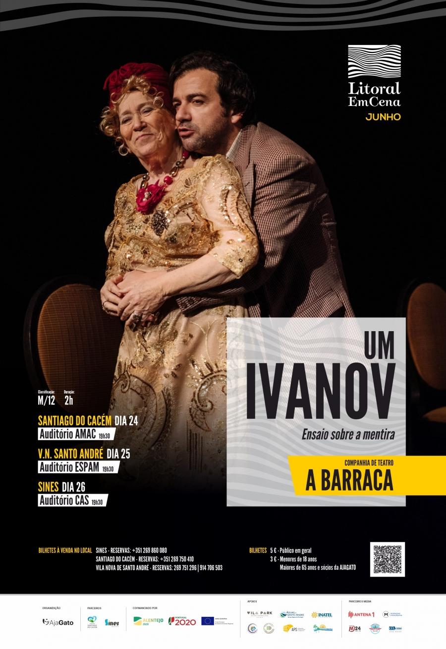 """Litoral EmCena – A Barraca – """"Um Ivanov"""""""