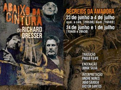 Teatro dos Aloés estreia espetáculo Abaixo da Cintura