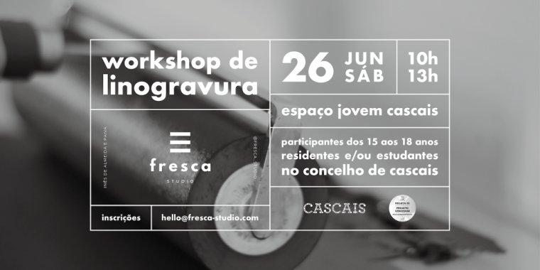 Workshop de Linogravura