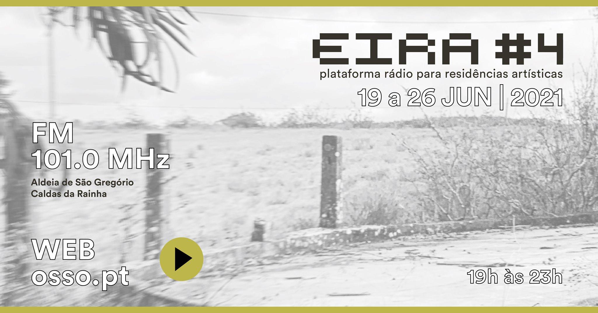 EIRA #4 - plataforma rádio para residências artísticas