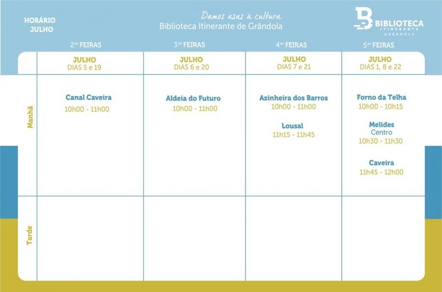 Biblioteca Itinerante - JUL'21