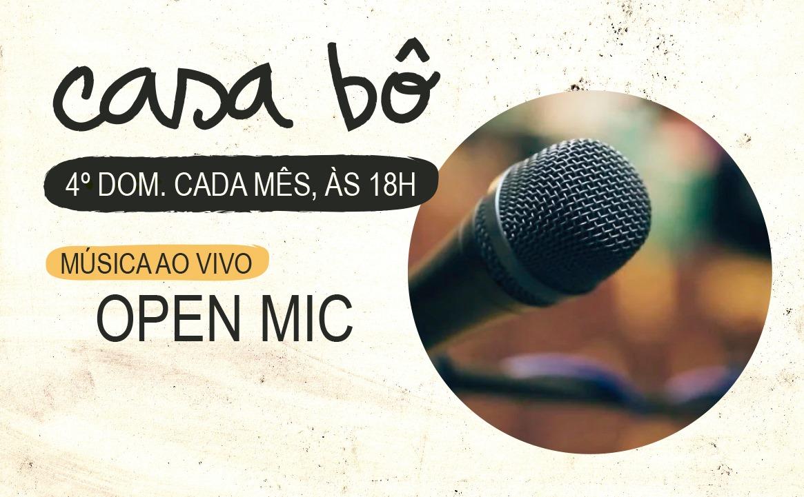 Open Mic: Música ao vivo