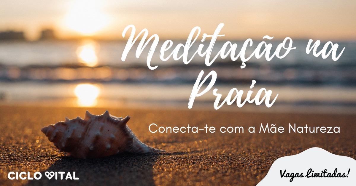 Meditação na Praia | Sábado